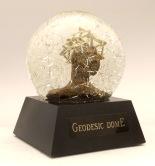 Geodesic Dome snow globe, Camryn Forrest Designs, Denver, Colorado