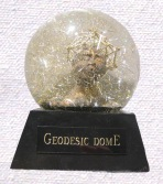 Geodesic Dome snow globe, Camryn Forrest Designs, Denver, Colorado