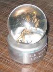 Hold Your Horses custom snow globe, Camryn Forrest Designs, Denver, CO USA 2016