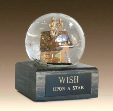 Wish Upon a Star snow globe, Camryn Forrest Designs, Denver, CO, USA