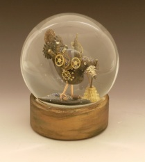 GearDuckken snow globe Camryn Forrest Designs Denver CO