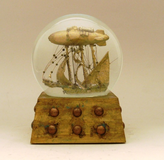 Journey to the Stars snow globe Camryn Forrest Designs Denver Colorado