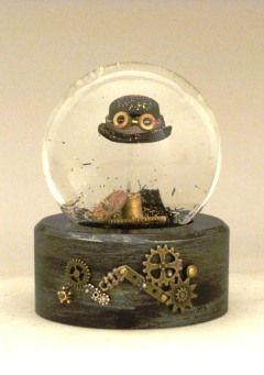Gearly Beloved Snow Globe Camryn Forrest Designs Denver Colorado