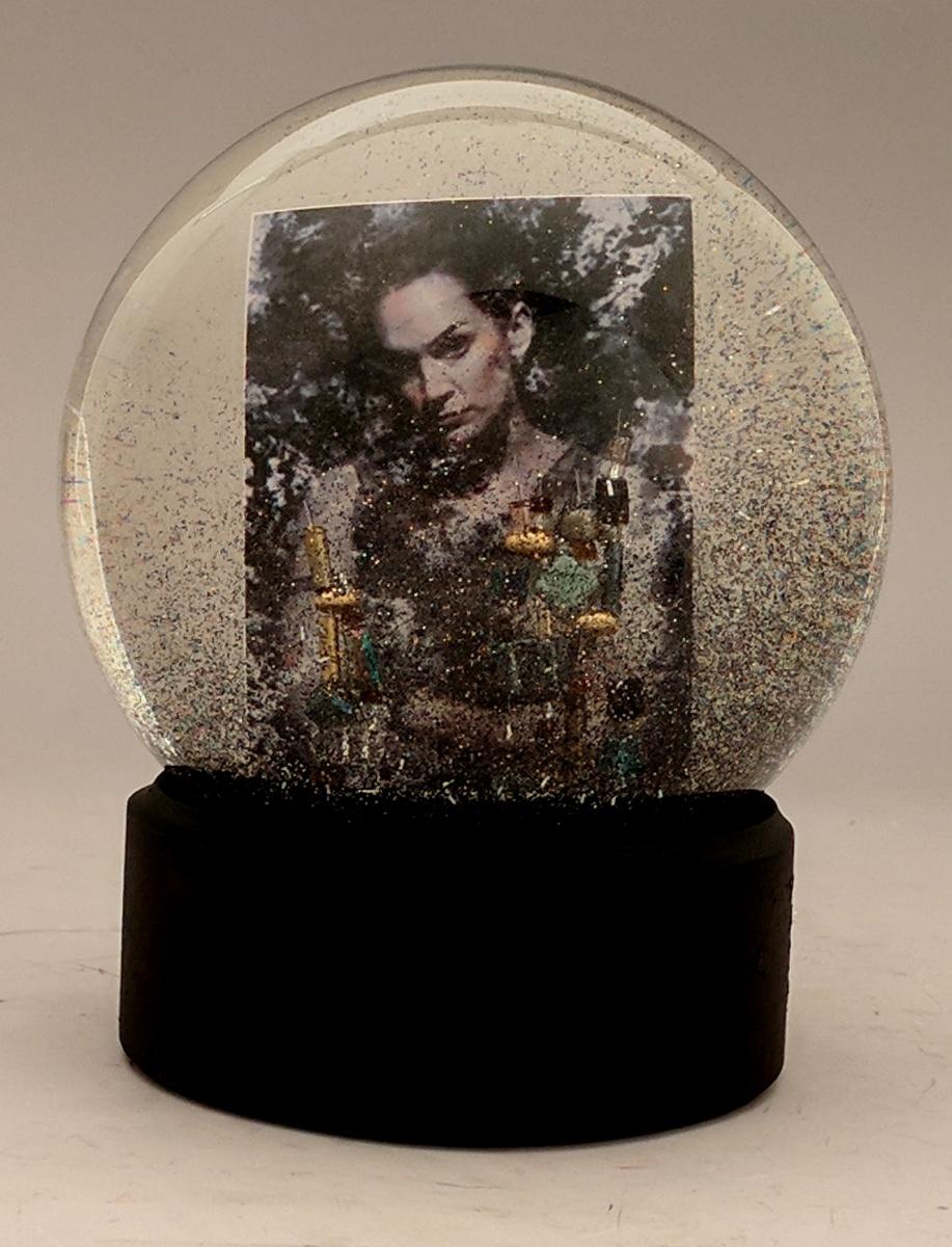 The Tangle snow globe, Camryn Forrest Designs, Denver, Colorado
