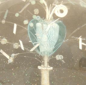 aqua heart detail