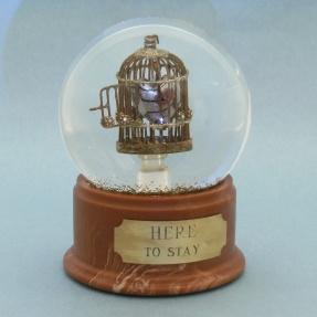 Heart snow globe, Camryn Forrest Designs, Denver Colorado