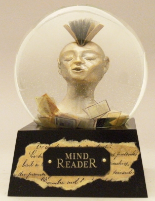 Mind Reader globe 2018 Camryn Forrest Designs, Denver, Colorado